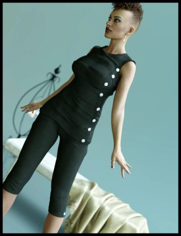 Betty Fashion Outfit for Genesis 8 Female(s)