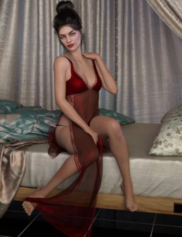 dForce Naomi's Lingerie Collection for Genesis 8 Female(s)