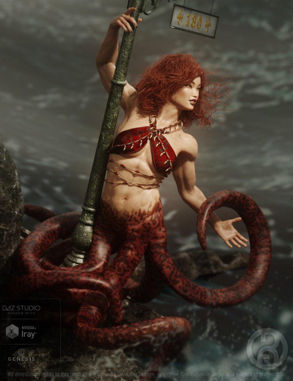 Octiana for Genesis 8 Female