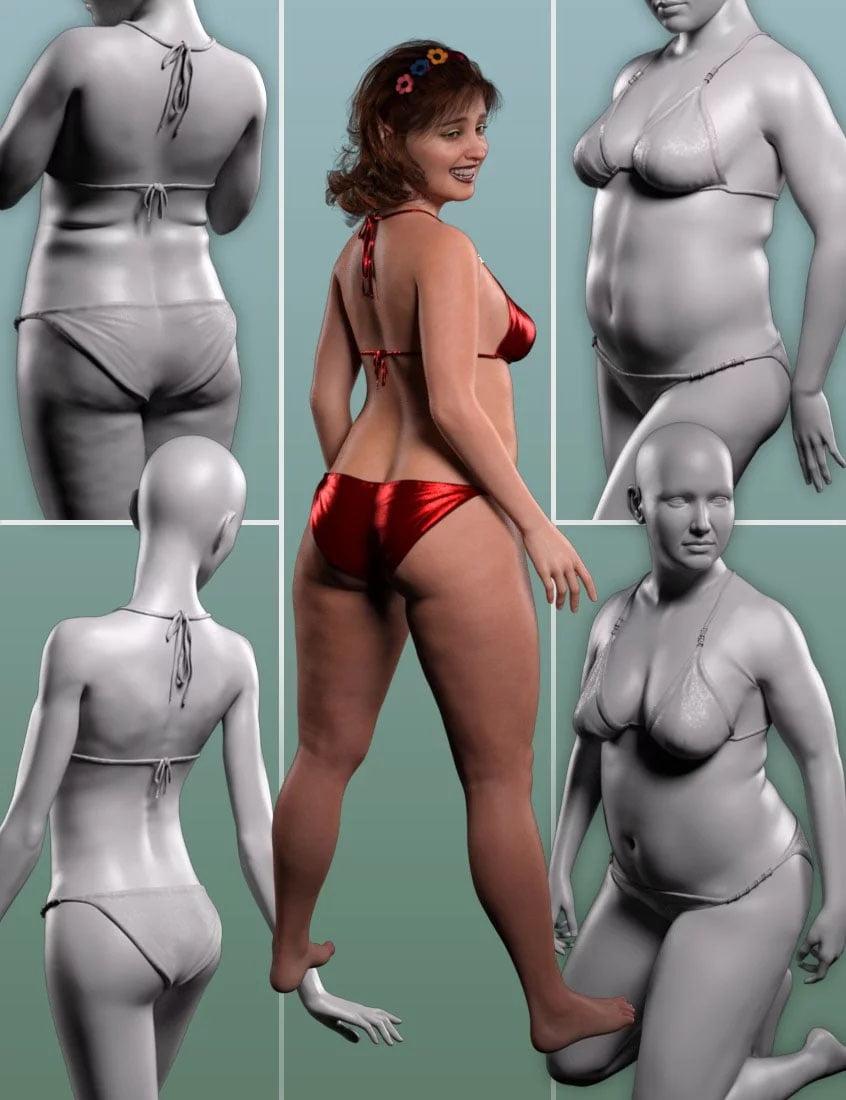 Body Diversity Morphs for Genesis 8 Female(s)
