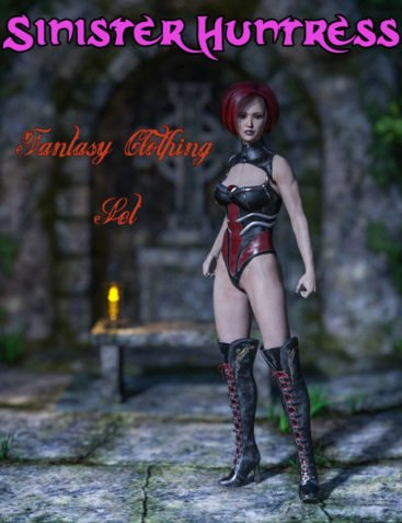 Slide3D Sinister Huntress for Genesis 3 Female(s)