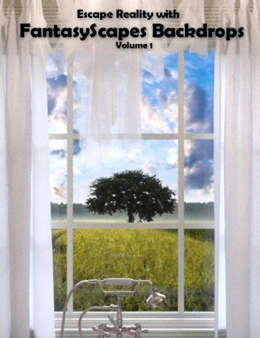 FantasyScapes Backdrops Volume 1