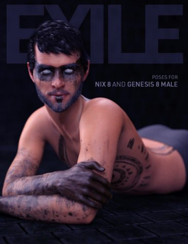 Exile Poses for Nix 8 and Genesis 8 Male