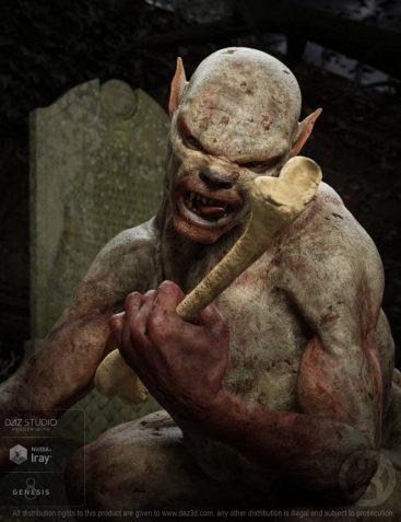 Gruesome Ghoul for Genesis 8 Male