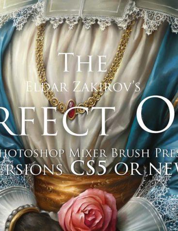 Oil Paints Mixer Brush Presets For Photoshop CS5+