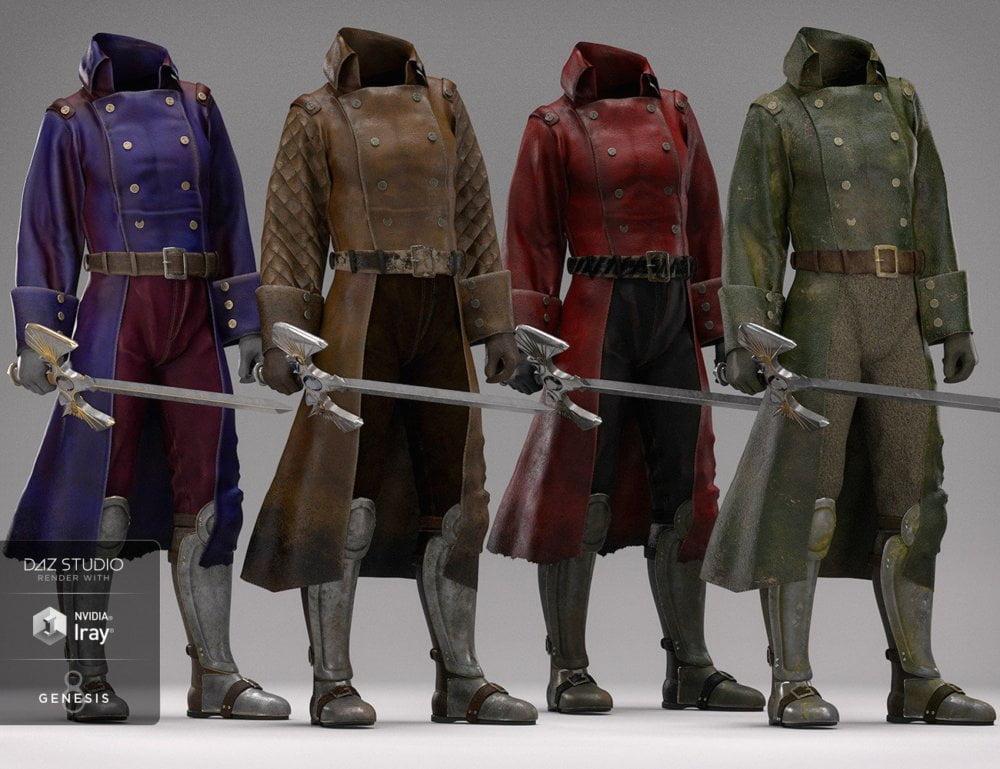 dForce Adventurer Knight Textures