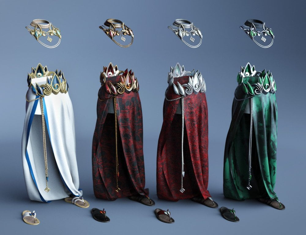 dForce Aegis Outfit Textures