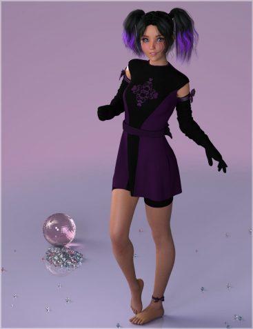 7th Ave dForce Hanoi Fashion for Genesis 8 Female(s)
