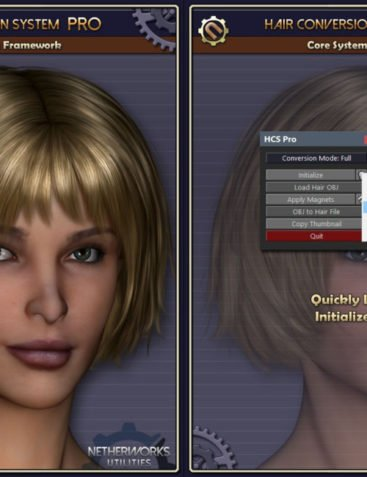 Hair Conversion System Pro Core