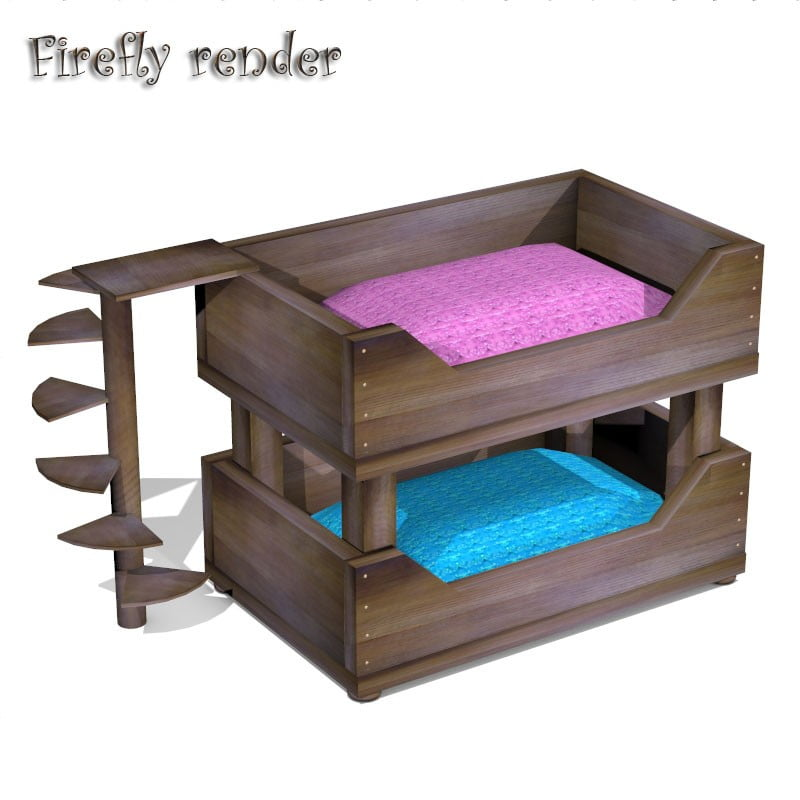 Cat Double Bed