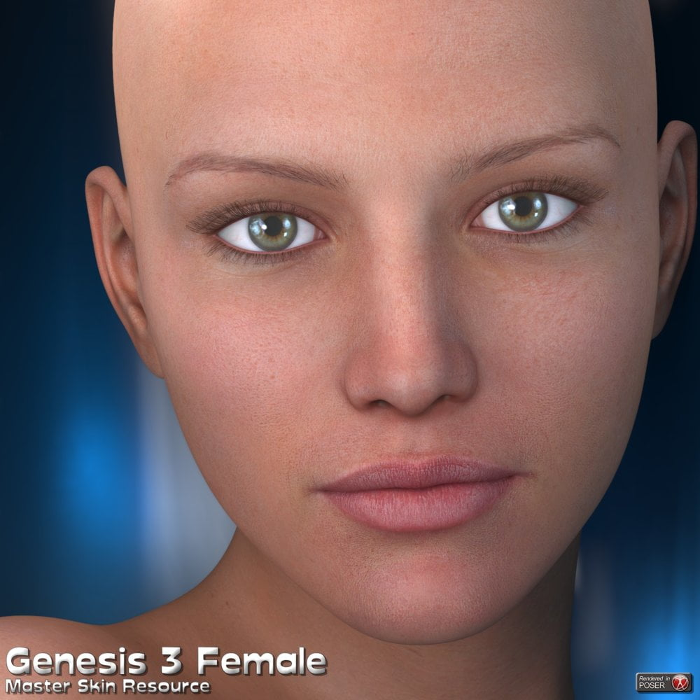 Master Skin Resource 12 - Genesis 3 Female + Genesis 8 Female
