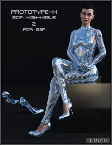 PROTOTYPE-X - SciFi High-Heels 2 - for G8F
