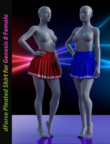 dForce Pleated Skirt for G8F