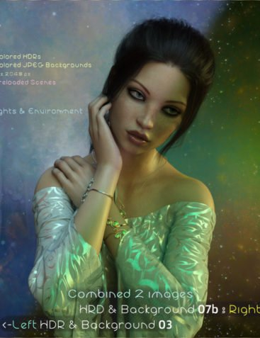 HDR & Backgrounds – Colored for DAZ Studio