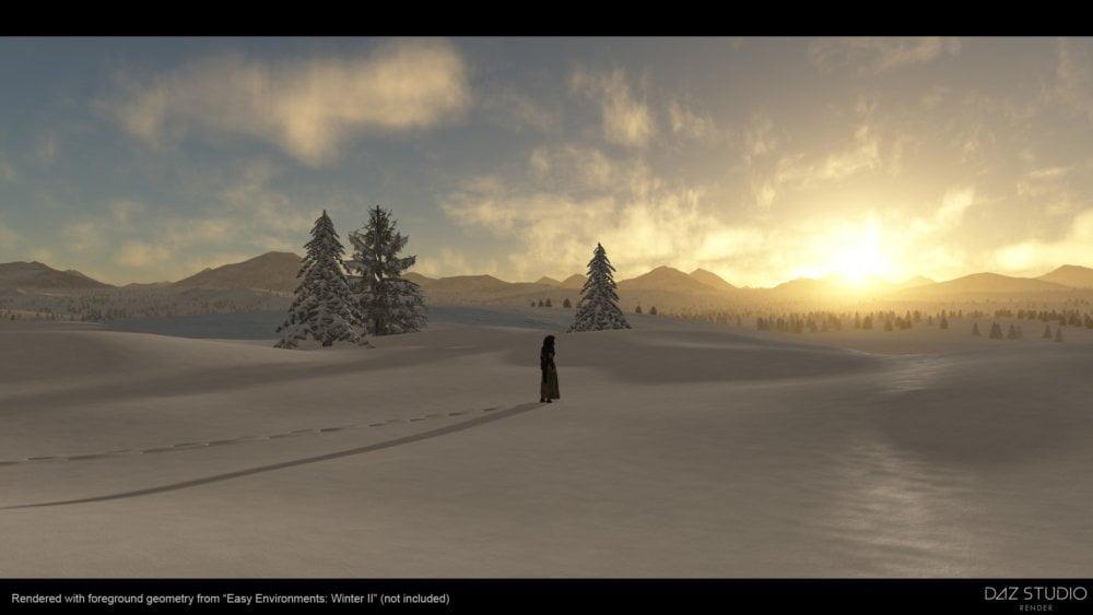 Easy Environments: Winter II Night & Dawn