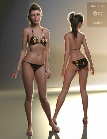 Elena HD for Genesis 8 Female