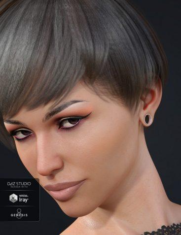 Gauged Ears for Genesis 8 Female(s)