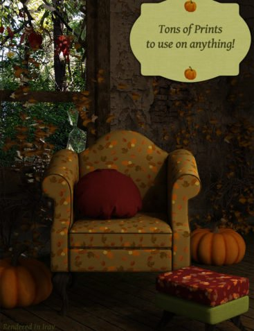 Iray Autumn Fabric Shaders And Seamless Tiles - Merchant Resource