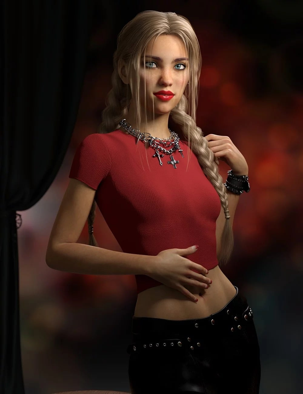 Tuesday HD for Genesis 3 and 8 Female