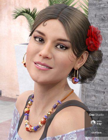 Salsa Hair for Gabriela 8