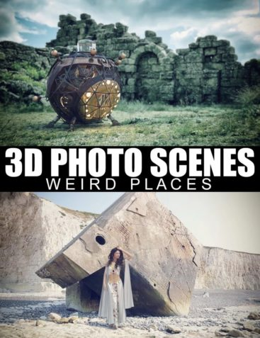 3D Photo Scenes - Weird Places
