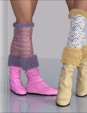 Fashion: SpicyWinter Furwear Boots&Leggings G3G8