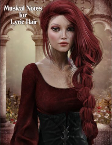 Musical Notes for Lyric Hair Expansion