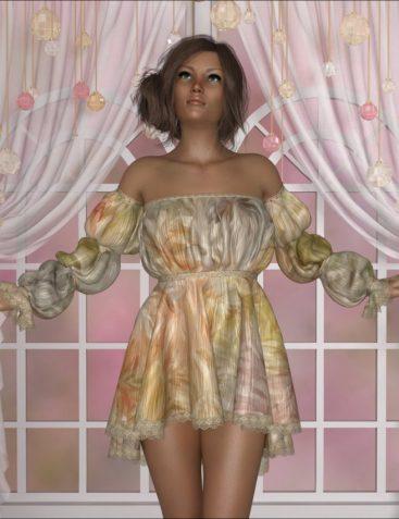 dForce - Lola Dress for G8F
