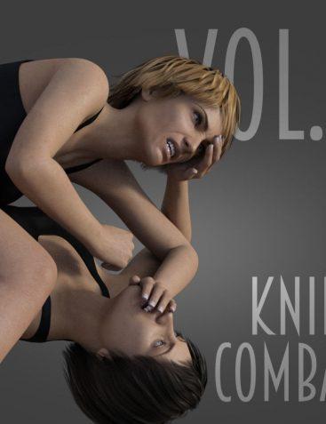 Knife Combat vol.3 for Genesis 8 Female