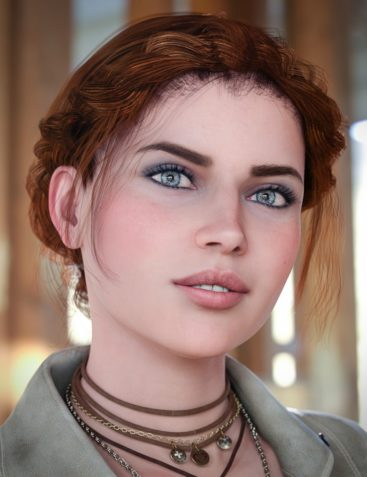 Braided Band Hair for Genesis 8 Female(s)