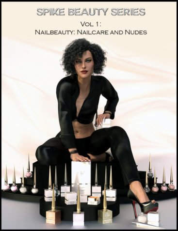 Spike Beauty Set Vol. 1: Nailcare, Nudes and Metallic Nudes