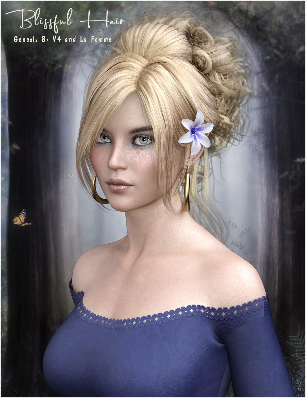 Blissful Hair G8/V4 and La Femme