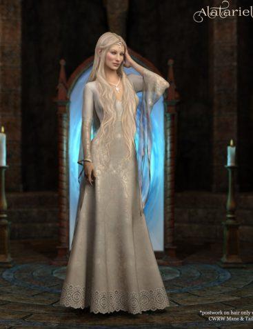 Alatariel for Genesis 8 Female