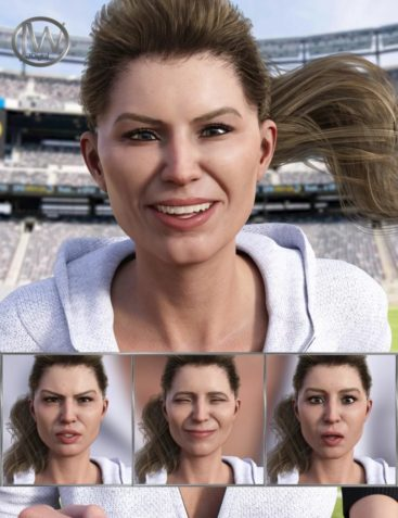 Athletic Life - Expressions for Genesis 8 Female and Jenni 8
