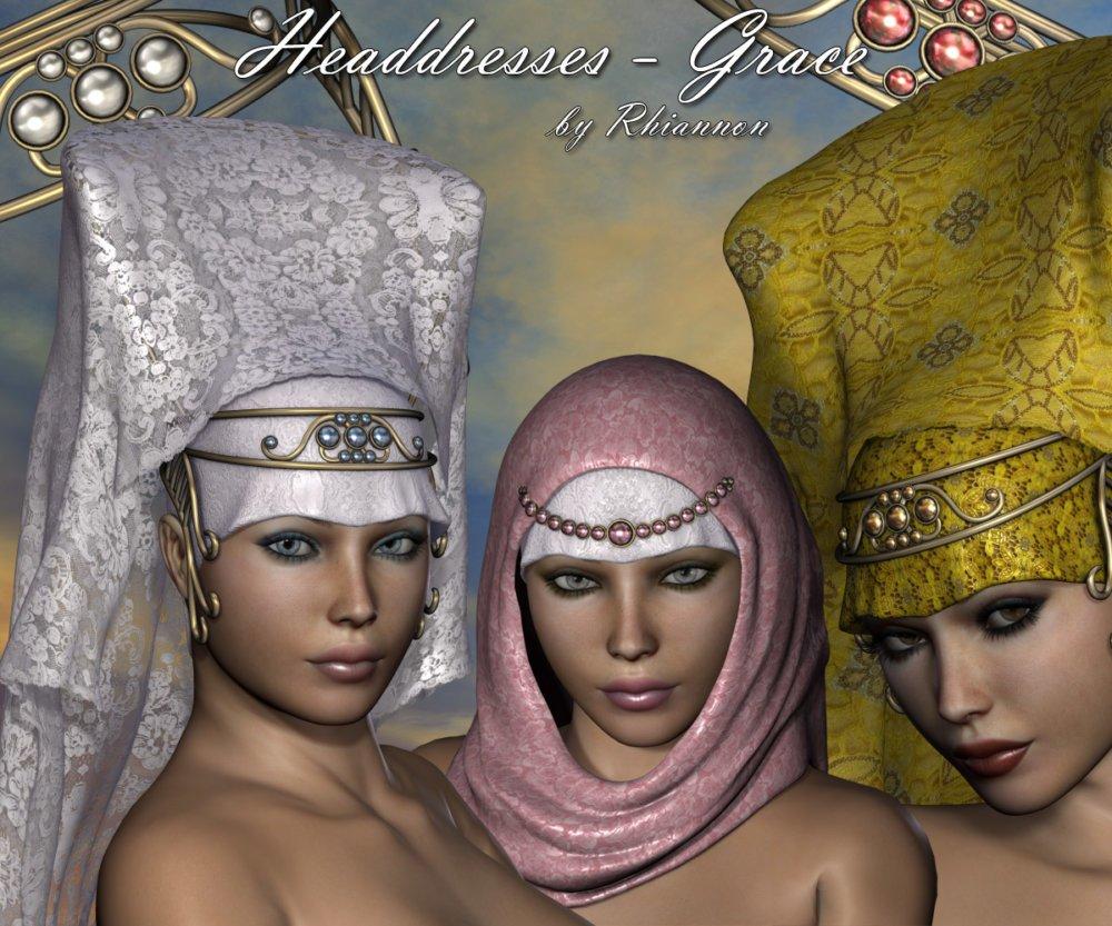 Headdresses - Grace for V4