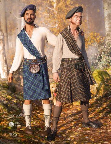 dForce Kilt: The Highlands
