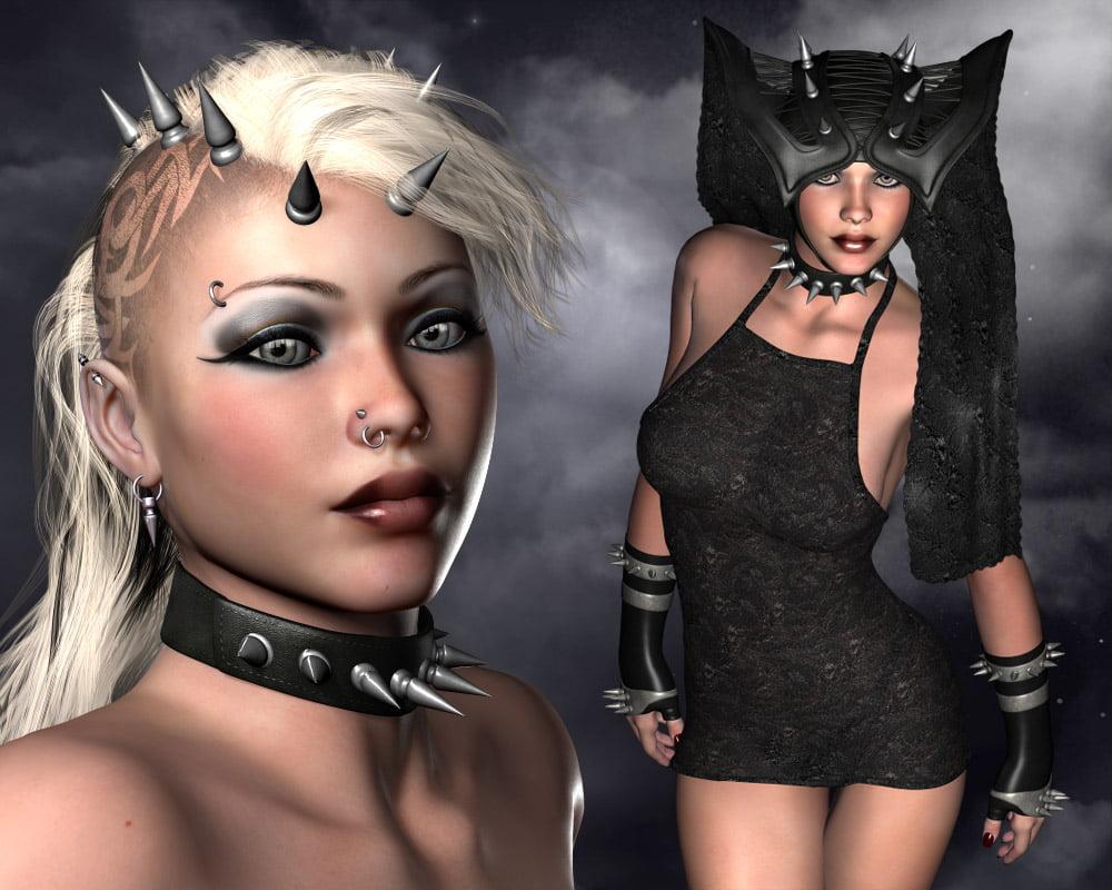 Headdresses - Morgana V4, A4, G4