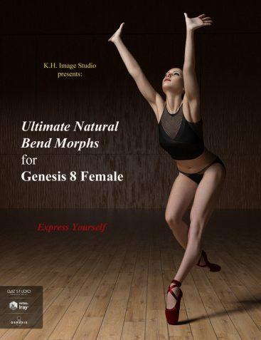 Ultimate Natural Bend Morphs for Genesis 8 Female