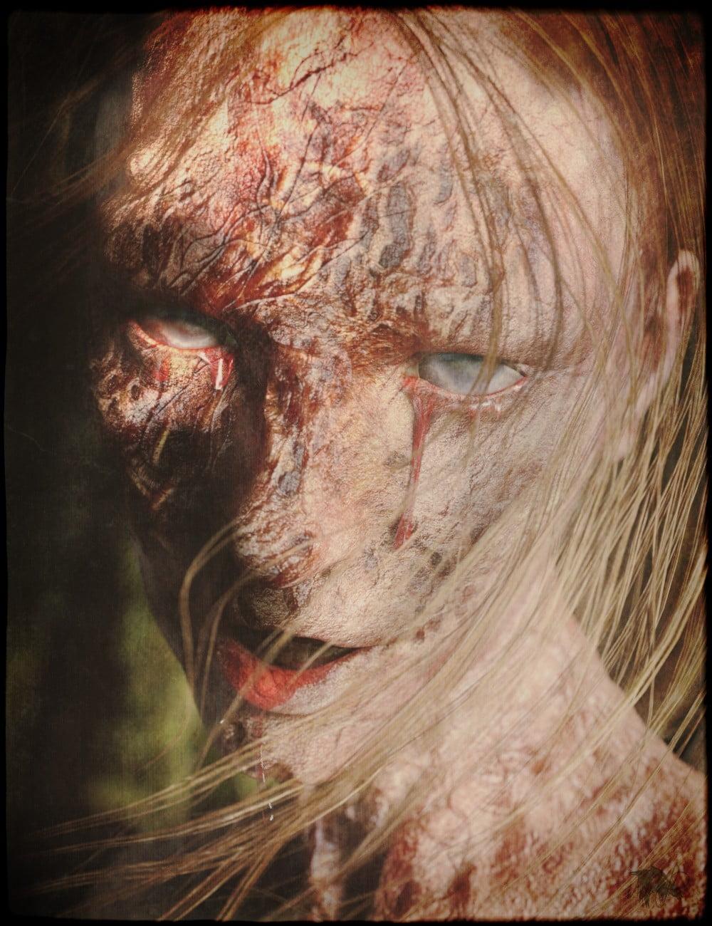 Horrifying Skins for Genesis 3 and 8 Female