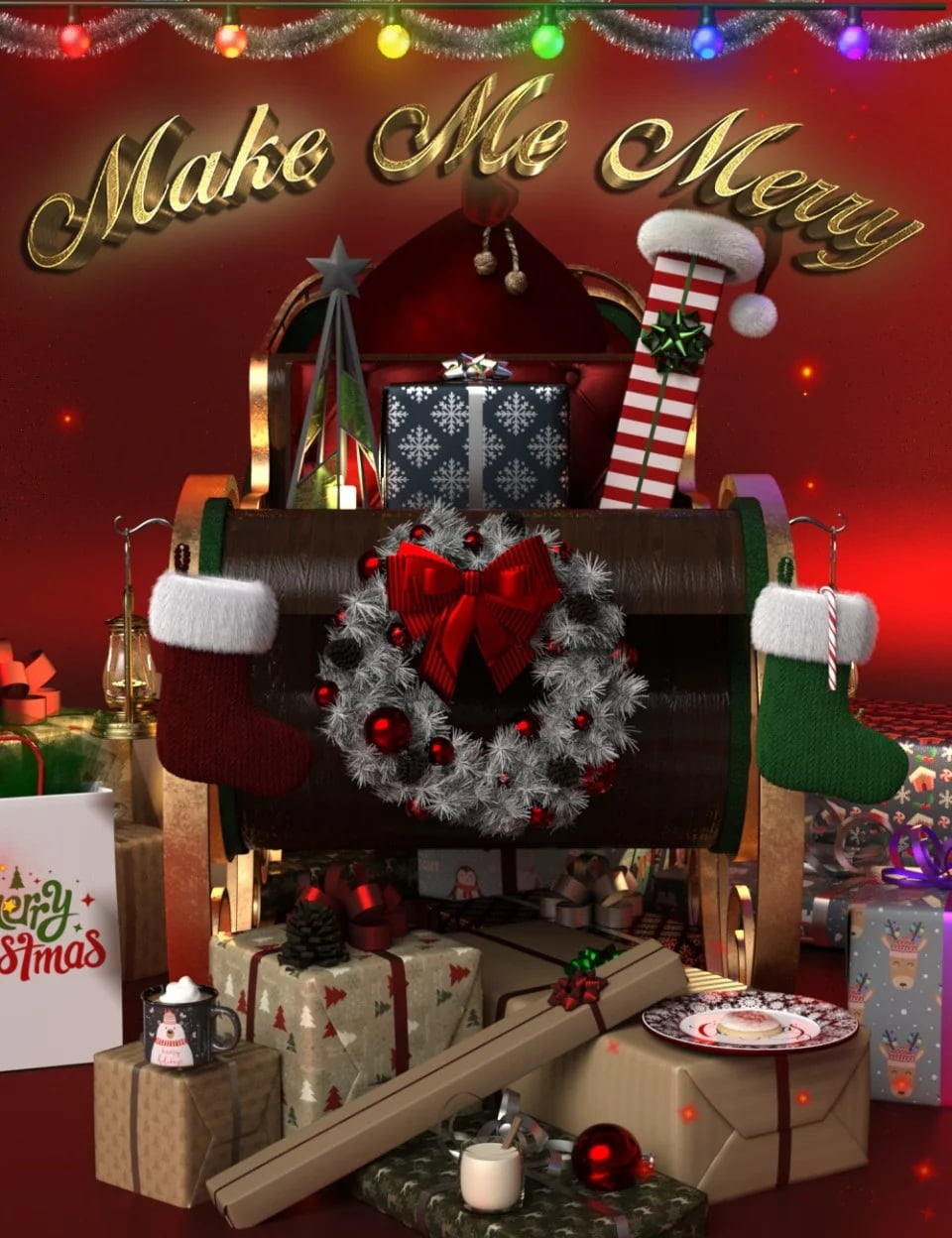 Make Me Merry Props and Shaders