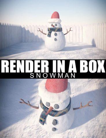 Render In A Box - Snowman