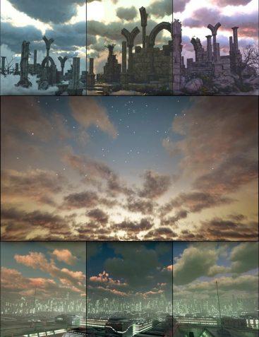 Cloudscape Creator - Bare Sky HDRIs for Iray