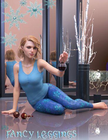 PS Fancy Leggings for Genesis 8 Female