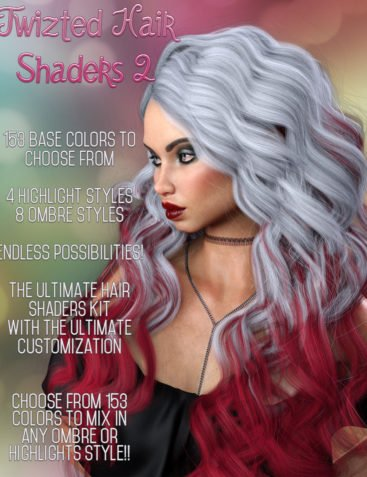 Twizted Hair Shaders 2