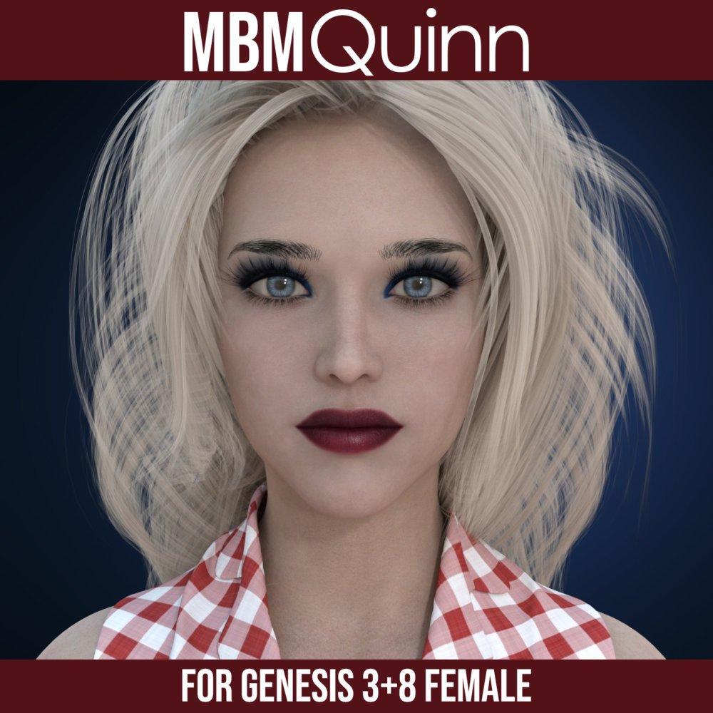 MbM Quinn for Genesis 3 and 8 Female