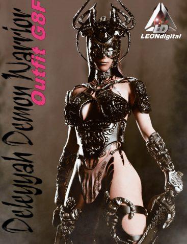 Deleyyah Demon Warrior Outfit G8F