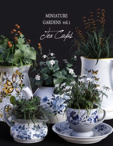 DGV Miniature Gardens Vol.1 TeaCups