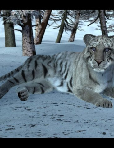 White Tiger for DAZ Big Cat 2