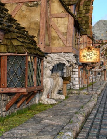 Apothecary Shop Expansion for Old Crone's Home