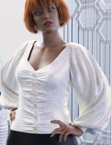 dForce Luxe Shirt for Genesis 8 Female(s)